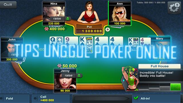 Tahapan Bermain IDN Poker Online Terbaru
